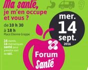 forum sante 2016 SMH