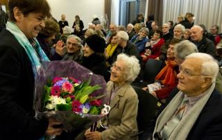 Réception en l'honneur de Madame Denise Meunier