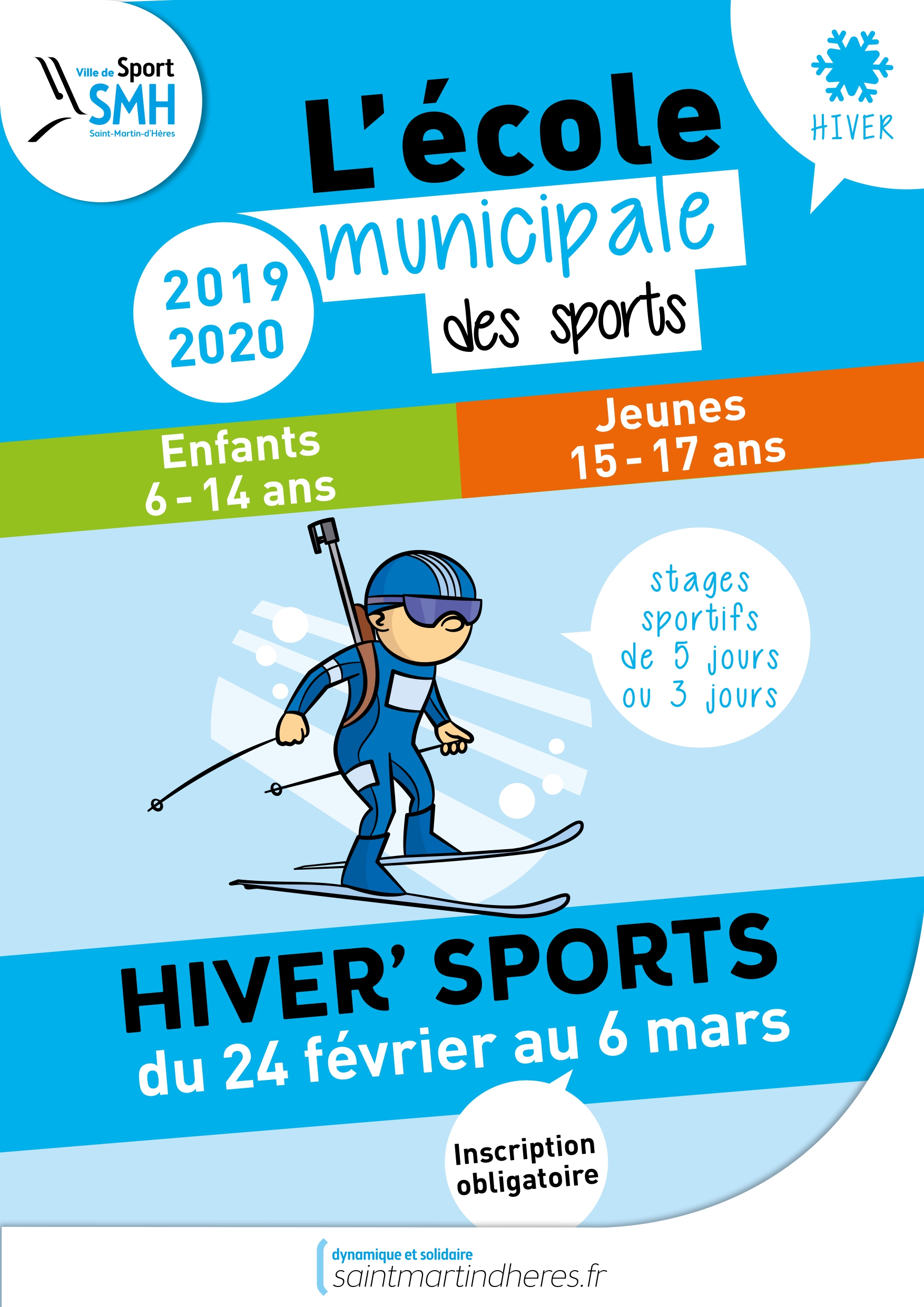 Hiver sports 2020