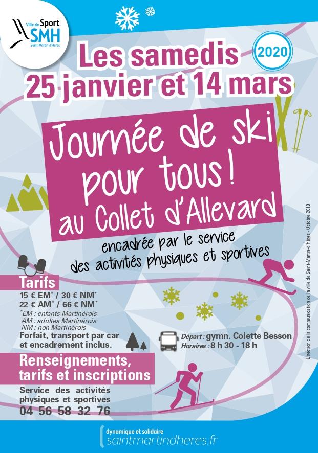 Journée ski pour tous au collet d'Allevard