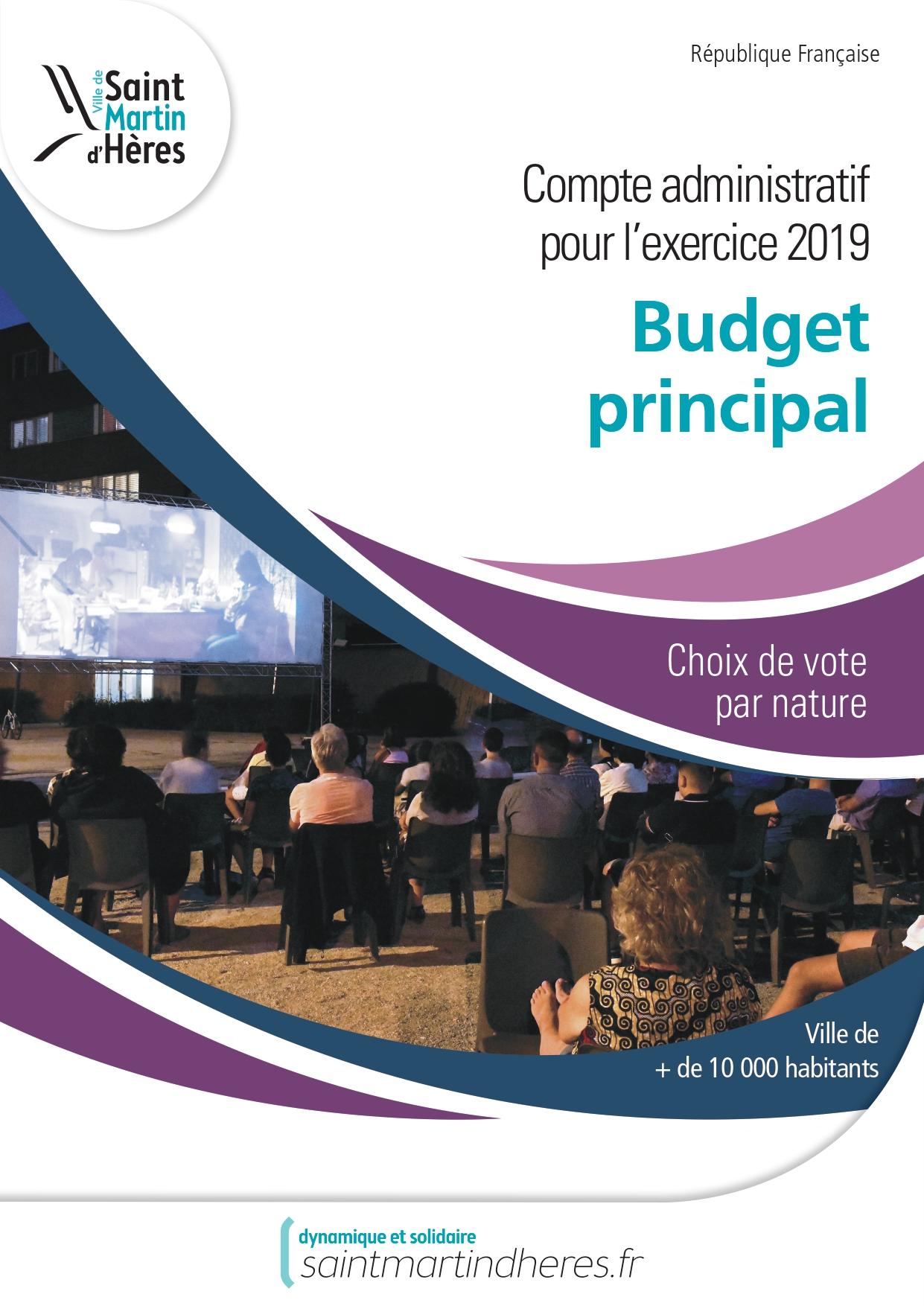 CA principal 2018