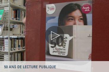 SMH Web TV - 50 ans de lecture publique