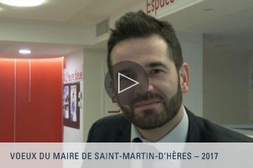 SMH Web TV - Voeux du maire de Saint-Martin-d'Hères - 2017
