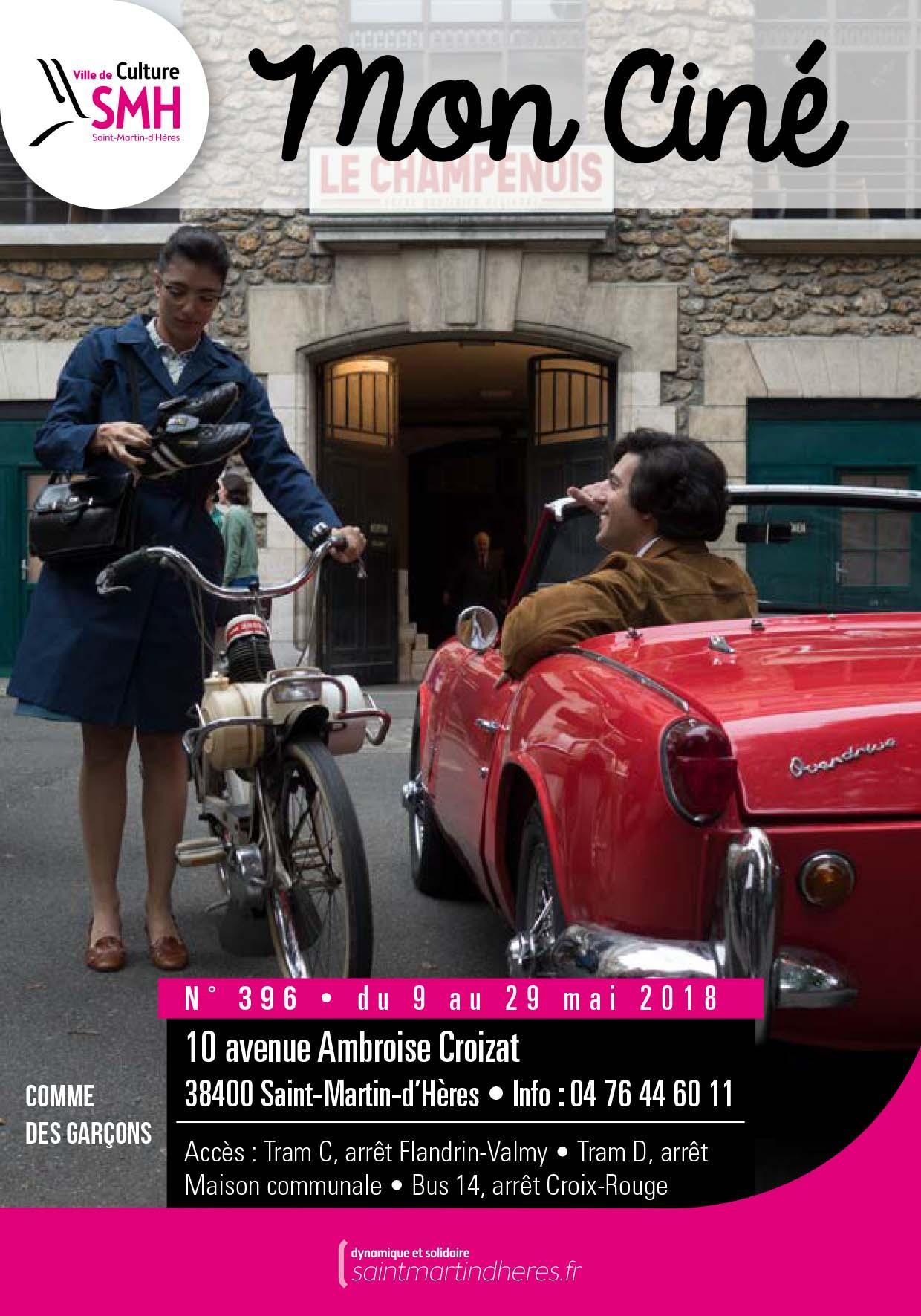 Saint-Martin-du0027Hères Dispose Du0027un Cinéma Art Et Essai Municipal Situé Au 10  Avenue Ambroise Croizat. Retrouvez Ici La Programmation De Mon Ciné.