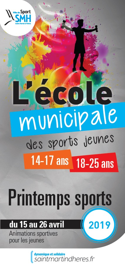 Printemps sports 2019 / 14-25 ans