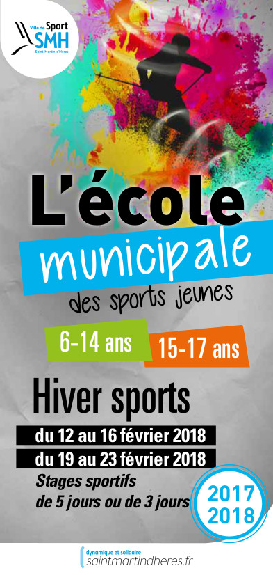 EMS Hiver sports 6-17 ans 2018