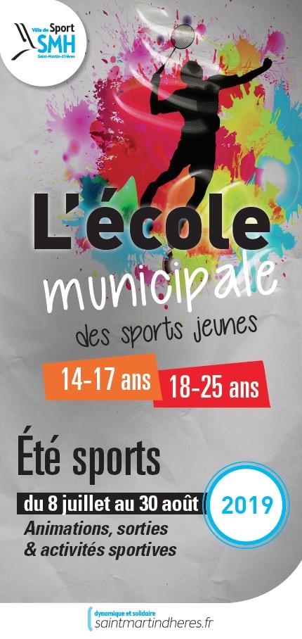 Été sports (14-25 ans) 2019