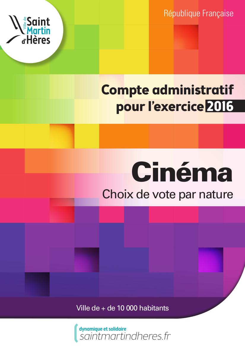 CA cinéma 2016