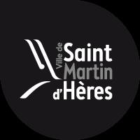 Logo Ville de Saint-Martin-d'Hères monochrome