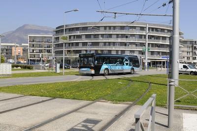 Bus TAG à Saint-Martin-d'Hères