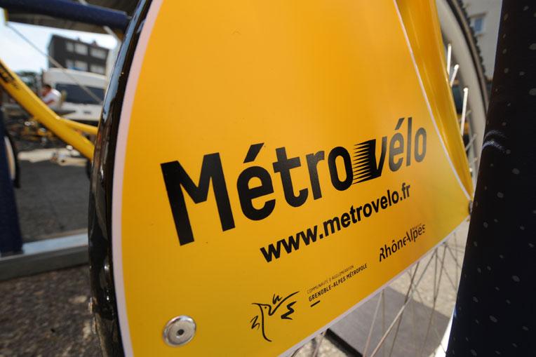 Métro-Vélo à Saint-Martin-d'Hères