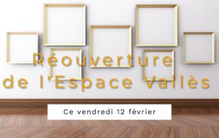 Réouverture de l'Espace Vallès - Saint Martin d'Hères