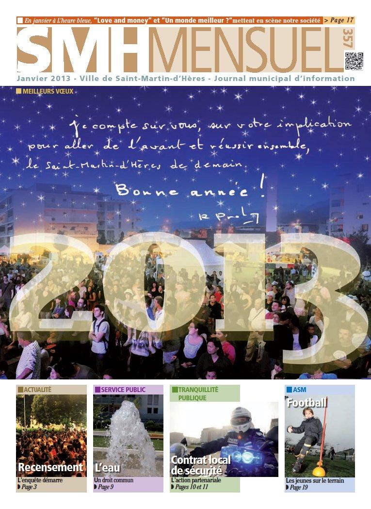 SMH Mensuel Janvier 2013