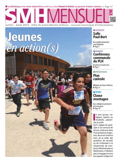 SMH Mensuel Juillet-Août 2013