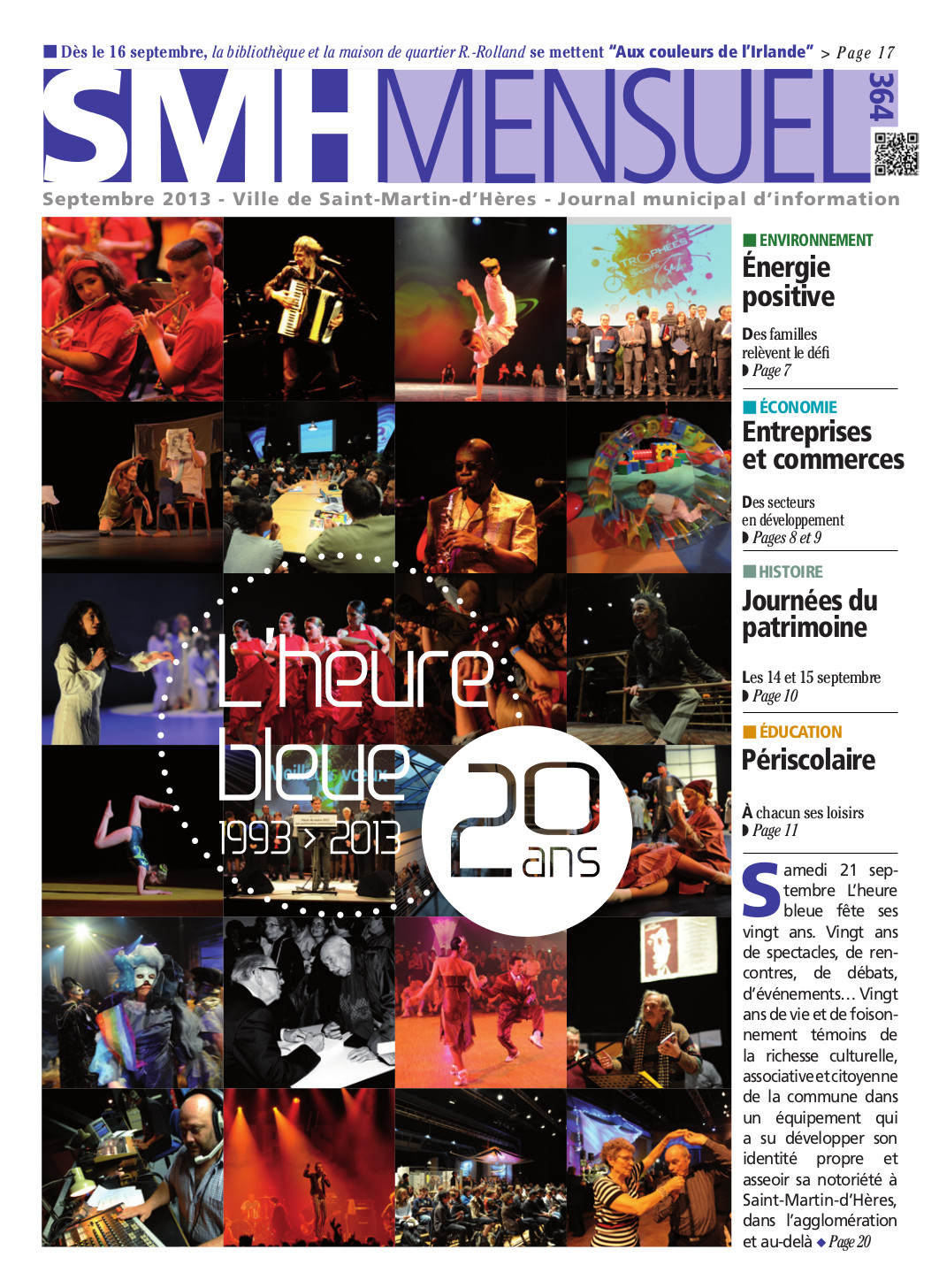 SMH Mensuel Septembre 2013