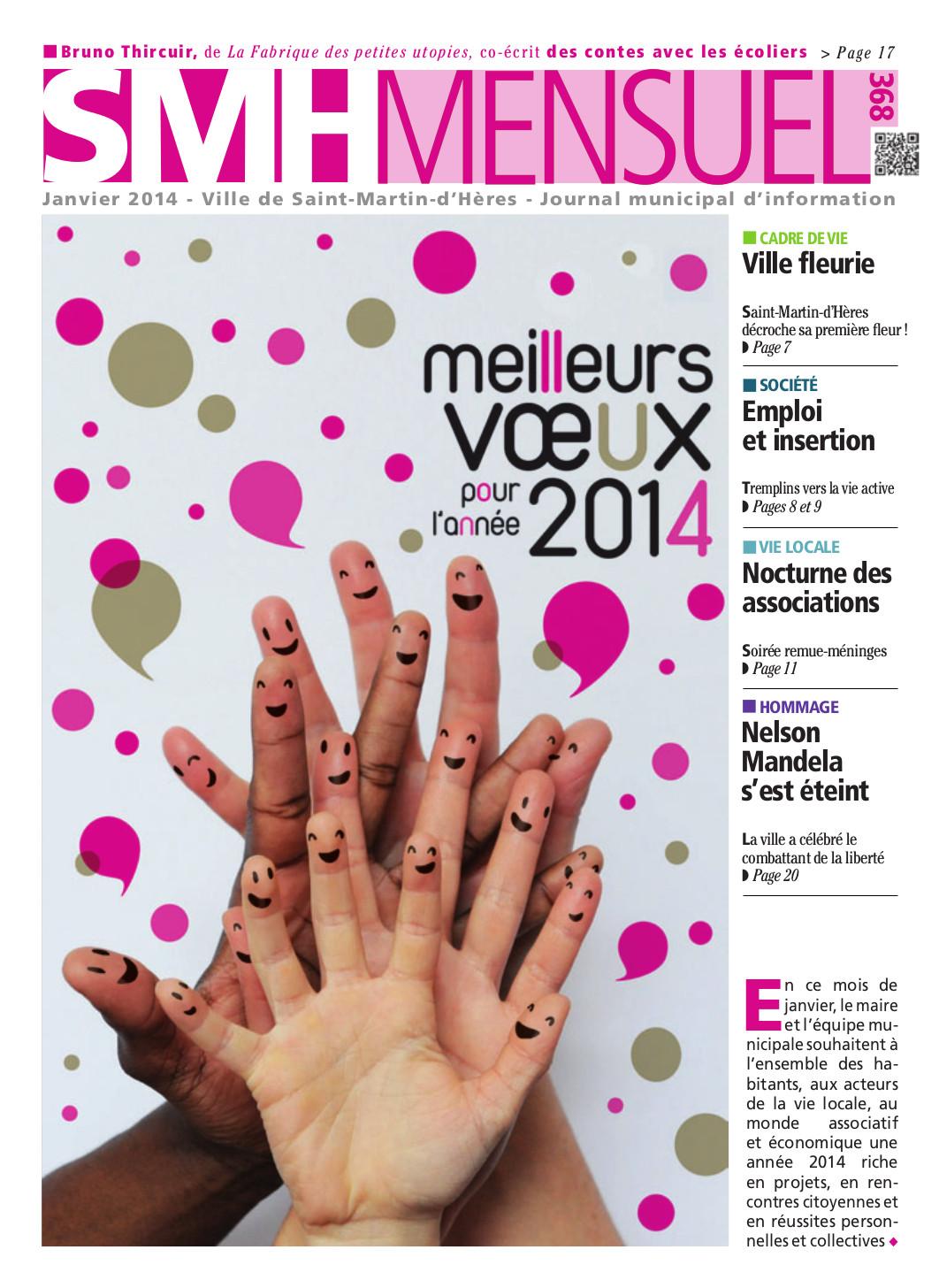 SMH Mensuel Janvier 2014