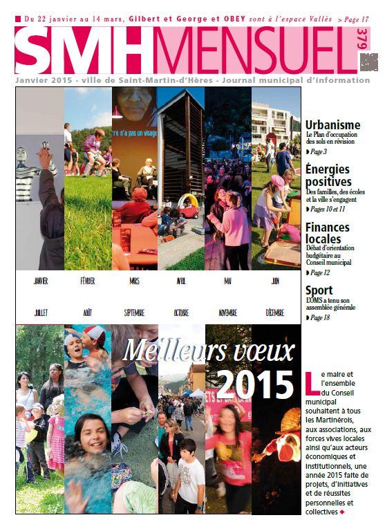 SMH Mensuel Janvier 2015