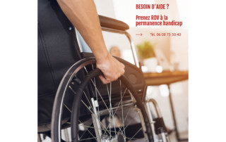contact permanence handicap St Martin d'Hères