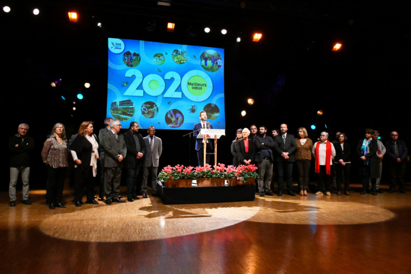 voeux du maire Saint-Martin-d'Hères 2020
